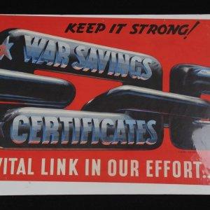 War Bonds 14x20 Poster by Vernon Lorimer