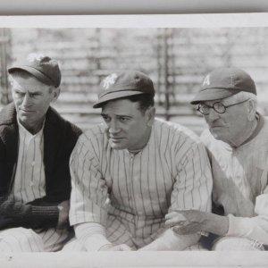 1949 Baseball Film Original 8x10 Promo Photo