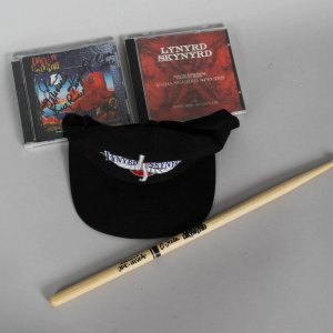 Lynyrd Skynyrd Signed & Used Drumstick (Signed by D. Hale)