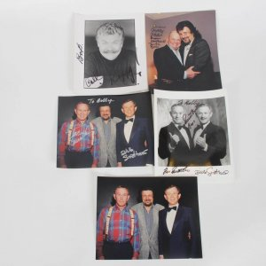 1970s Comedian Signed 8x10 Photo Lot 4 Incl. Smothers Brothers
