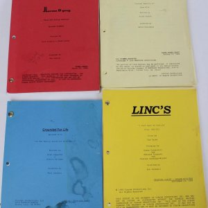 Lot of (4) 1990s Final Draft Television Show Scripts Incl. Mad About You