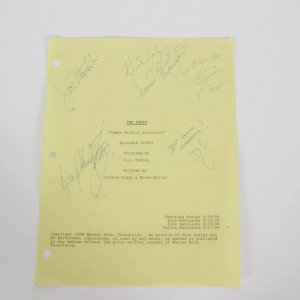 """The Strip """"Games Without Frontiers""""  1999 Episode 226001  Signed & Inscribed By 4 Cast Members & Directed D.J. Caruso"""