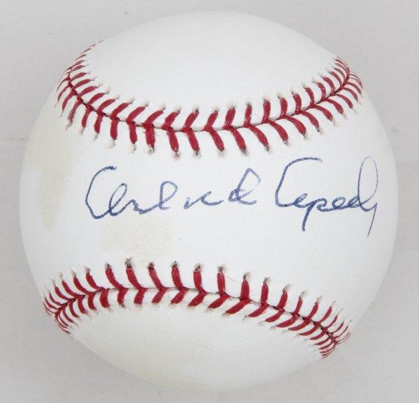 San Francisco Giants Orlando Cepeda Signed Baseball