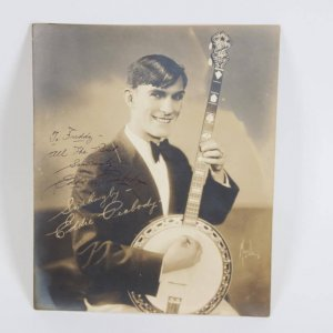 The Man with the Banjo - Eddie Peabody Signed