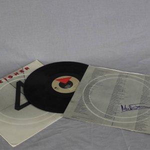Bristish Rock Band - Foreigner Mick Jones Signed Album Insert