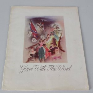 1940s Gone with the Wind Program Signed by Marie