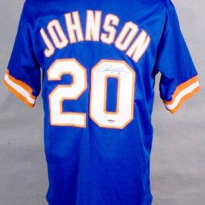 New York Mets - Howard Johnson Signed Jersey