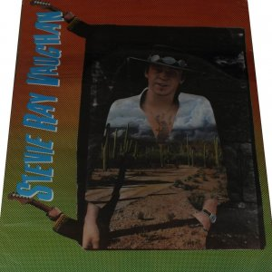 Stevie Ray Vaughn Color 37x45 Poster Store Display