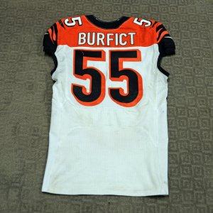 2013  Bengals - Vontaze Burfict Game-Worn Jersey (Team Store Tagging)