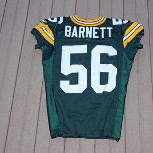 2010 Green Bay Packers Nick Barnett 2010 Game-Worn Jersey