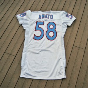 2009 Tennessee Titans - Ken Amato Legacy Game-Worn Jersey (NFL Auctions COA)
