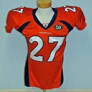 2009 Denver Broncos - Knowson Moreno Game-Worn ROOKIE Alternate vs Cowboys (NFL Auctions COA)