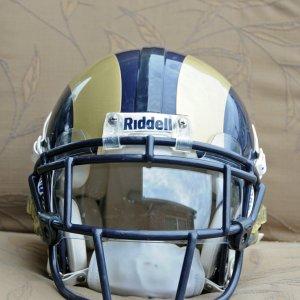 2009 Brandon Gibson St Louis Rams Game Worn Helmet