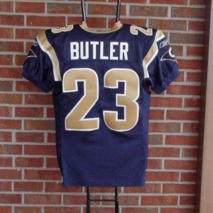 2004 St Louis Rams - Jerametrius Butler Game-Worn Uniform Incl. Jersey