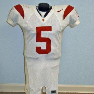 2003 Reggie Bush Game-Worn USC Jersey