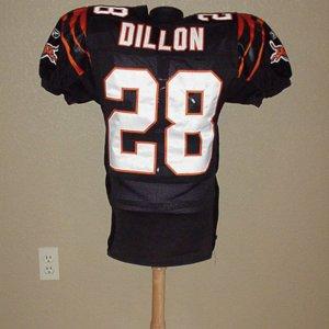 2002 Bengals Corey Dillion Game-Worn Jersey