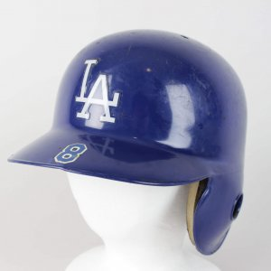 1997 Los Angeles Dodgers Grudziel Anek Game-Worn Helmet