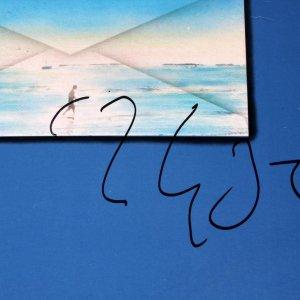Dire Straits Mark Knopfler Signed Communique Album