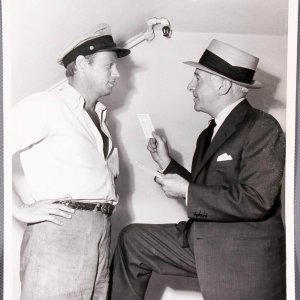 """Walter Winchell Signed Letter and Original Movie Photo from """"Hell and High Water"""" - (Danny Goodman Collection)"""