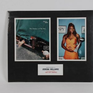 Tennis Star Serena Williams Autographed Espy Awards 2004 Promotional Photo