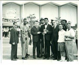 (2) Vintage Cassias Clay (aka Muhammad Ali) B&W 8x10 Photos Feat. One by Photographer Kurt Severin