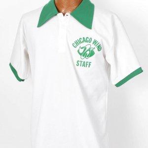 1975 Chicago Winds WFL Game Worn Staff Shirt Jersey