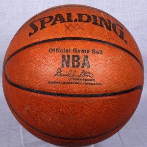 Offical NBA Game-Used David J. Stern Basketball