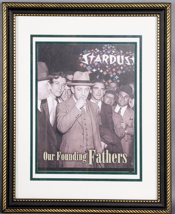 BRF Gangster Photo 'Our Founding Fathers' Display From Stardust Executive's Office Free Shipping