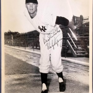 New York Yankees - Ralph Terry Signed