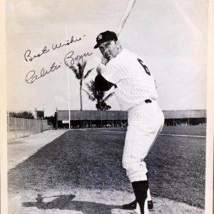 New York Yankees - Clete Boyer Signed