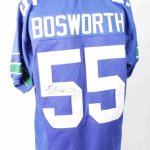 Brian Bosworth Seahawks Signed Home Jersey