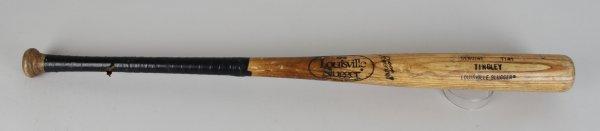 California Angeles Ron Tingley Game-Used 125 Louisville Slugger Bat