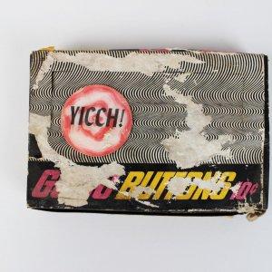 TOPPS GO-GO BUTTON 1972 I DIG U FLICKERFLASH VARIETY