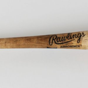 Baltimore Orioles Harold Reynolds Game-Used Adirondack Big Stick Bat