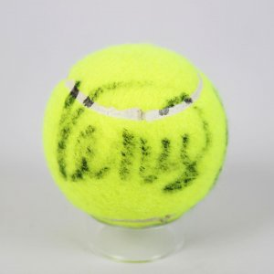 Tennis Stars Serena and Venus Williams Signed Tennis Ball -Provenance from London