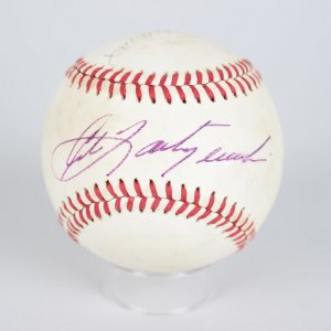 Boston Red Sox Multi-Signed OAL MacPhail Baseball Ted Williams, Yaz,Boggs, Rice,