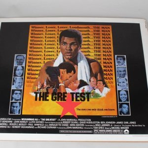 Muhammad Ali 22x28 Movie Poster