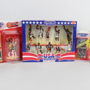 Lot of Starting Lineups- 1992 Dream Team, One on One & Magic