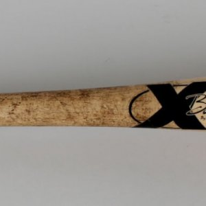 """Cardinals Albert Pujols Game-Used X-Bat (With """"2004 NL Playoffs"""" Stamped on the Barrel)"""