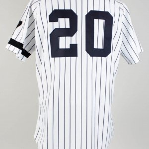 1995 Mike Stanley New York Yankees Home Jersey