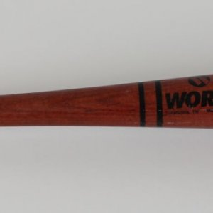 Los Angeles Dodgers Raul Mondesi Game-Used Worth Bat