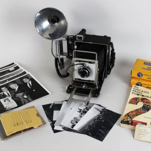 Louis Giampa Vintage Chicago Press Photographer Camera, Negatives, Photos