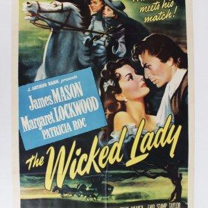 "The Wicked Lady (Universal International, 1946). One Sheet (27"" X 41""). Drama."