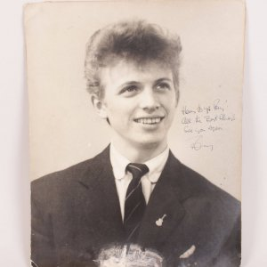1957 Tommy Steele Signed Inscribed Vintage 18x 20 Poster