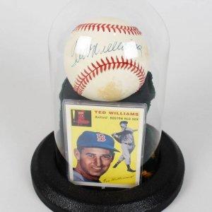 Boston Red Sox - Ted Williams Signal Signed Baseball (UDA)