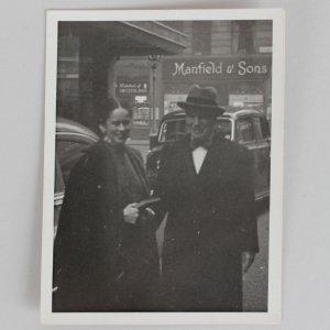 Original Photo - Charlie & Oona Chaplin Signed 3x4 Photo