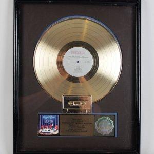 "The California Raisins "" Priority Records"" Gold Record Award - Presented To Steve Russo"