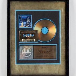 Trans Liberian Orchestra Lava/Atlantic Gold Record Award Presented To Steve Russo