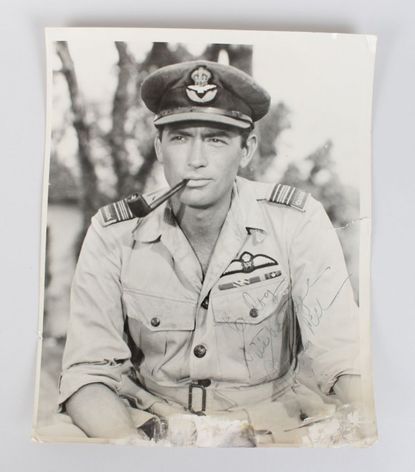 Actor Gregory Peck Signed 11x14 Photo