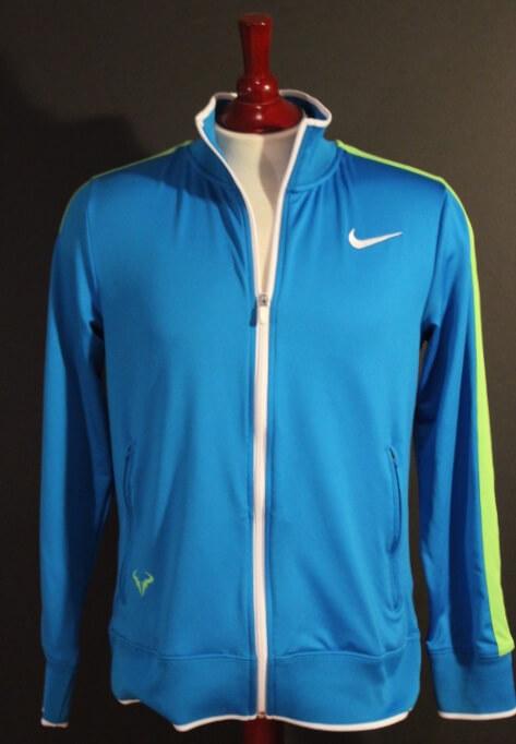 A Rafael Nadal Game Used Custom Nike Tennis Jacket 2012 Australian Open Final Memorabilia Expert